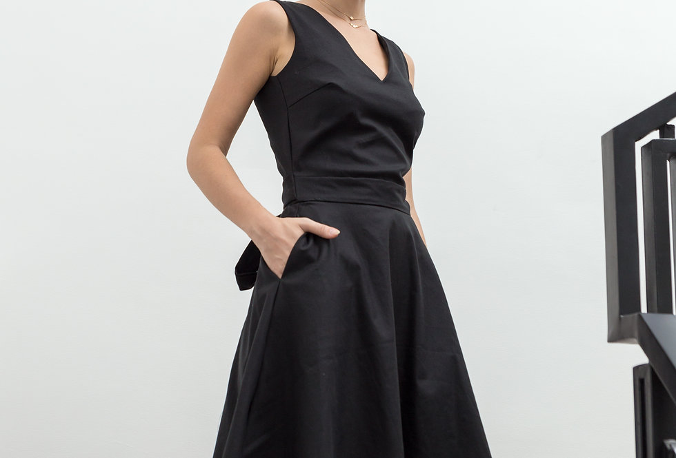 Kaila Dress- Black