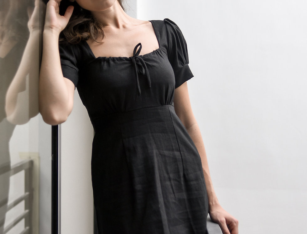 Lana Dress- Black