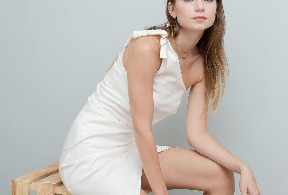 Sandy Dress- White
