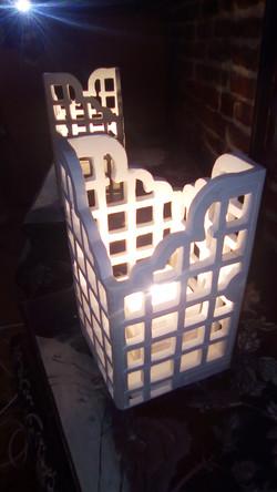 Lanterne artisanale Création