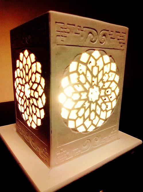 Lampe artisanale byzantine N°2, Sharanga Design