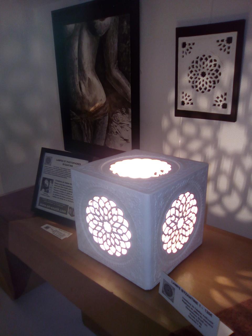 Lampe marocaine, art adalou marocain