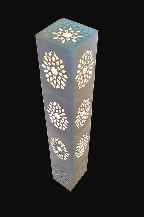 Lampe tour byzantine 40x8cm - Création Sharanga Design