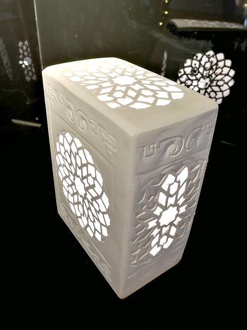 Lampe artisanale byzantine N°3, Sharanga Design
