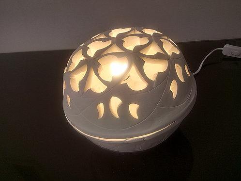 """Lampe et photophore indien - sphère """"Chandra"""""""