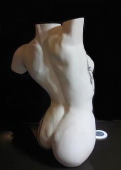 Sculpture buste marbre Sharanga 10