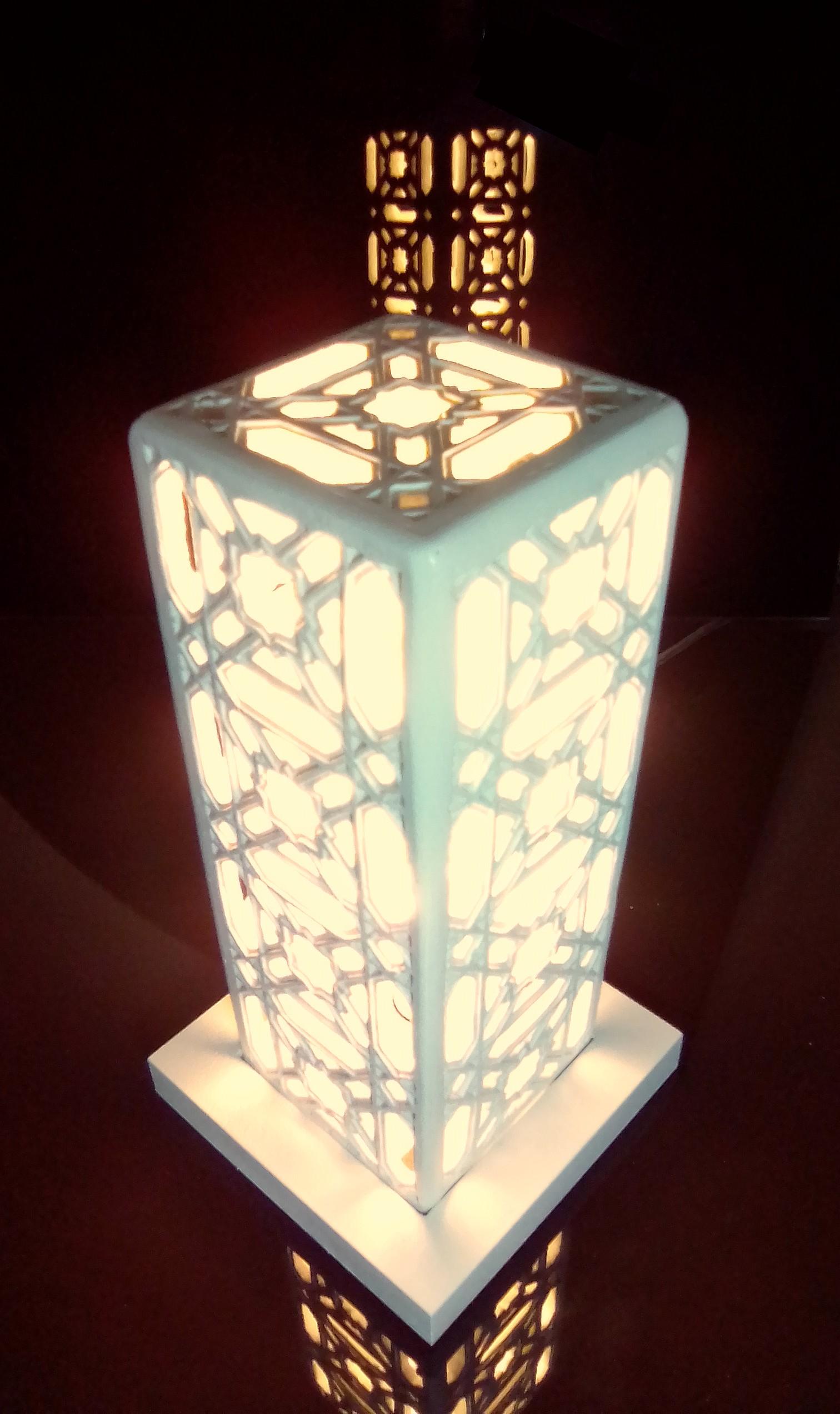 Lampa marocaine, design Sharanga