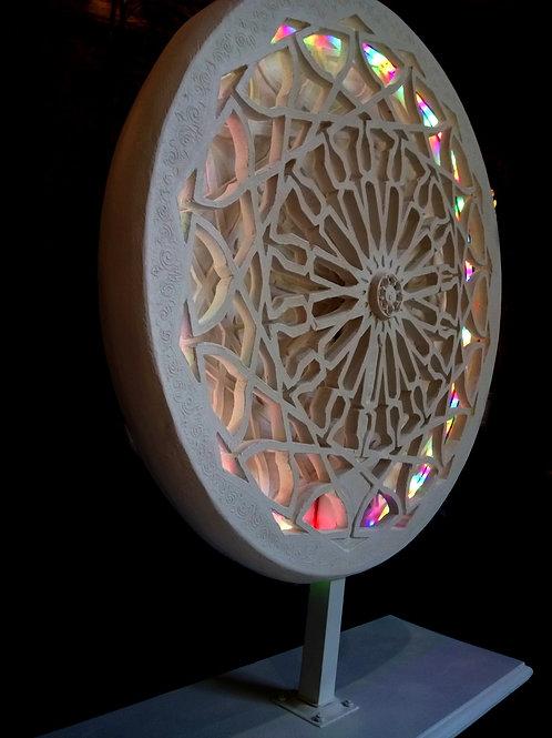 "Grande Lampe sur pieds ""Soleil andalou"" - Sharanga Design"