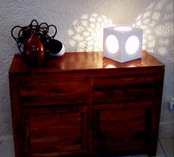 Lampe marocaine, Design sharanga