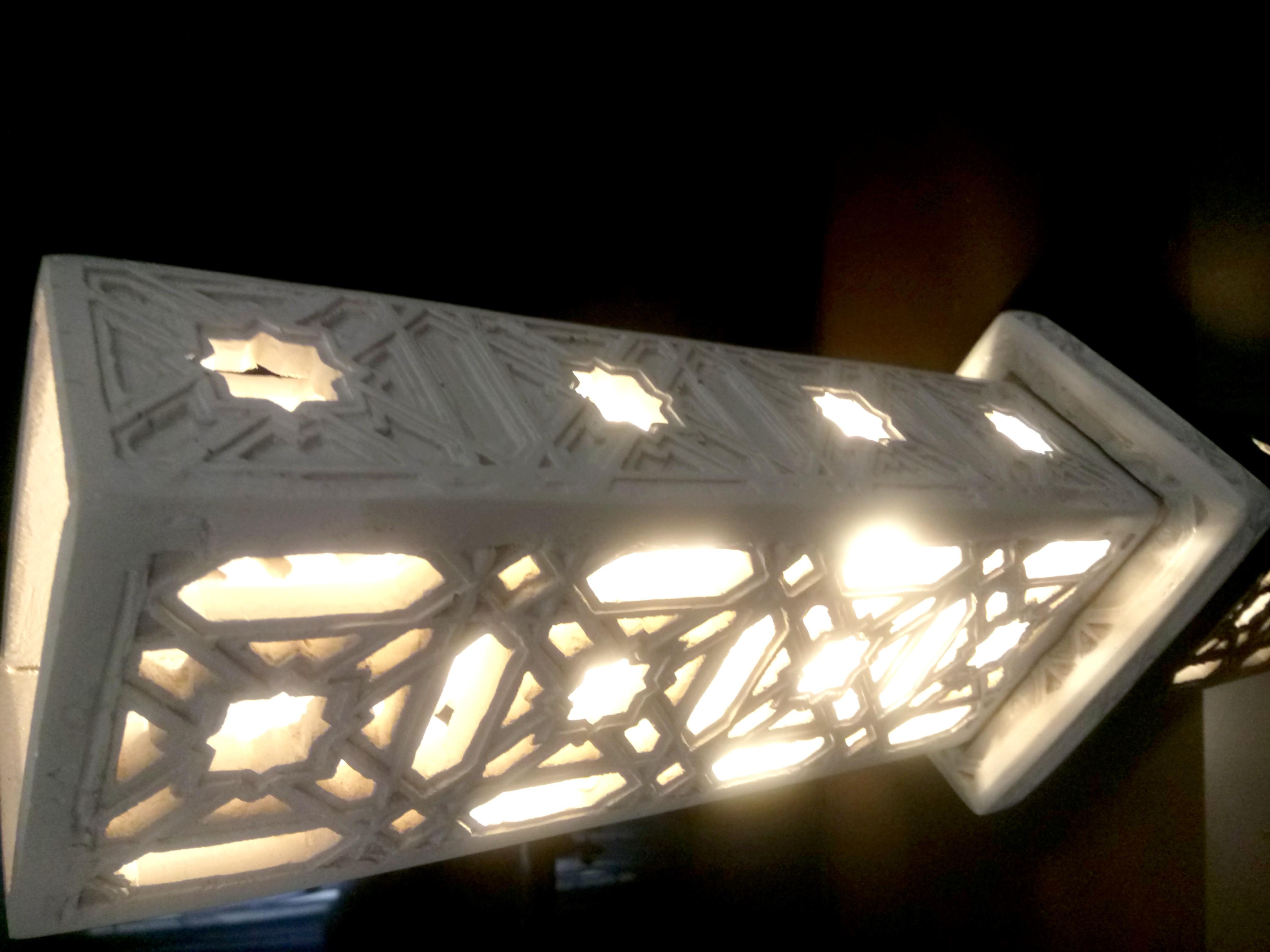 Lampe marocaine, art décoration