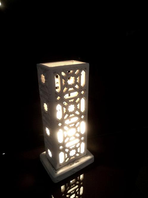 Lampe tour marocaine ajourée, Version 2 Sharanga Design