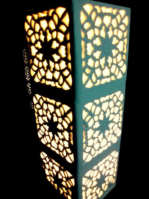 Lampe tour indienne ajourée de style Rajasthan - Sharanga Design