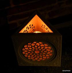 Lampe marocaine, photophore Sharanga
