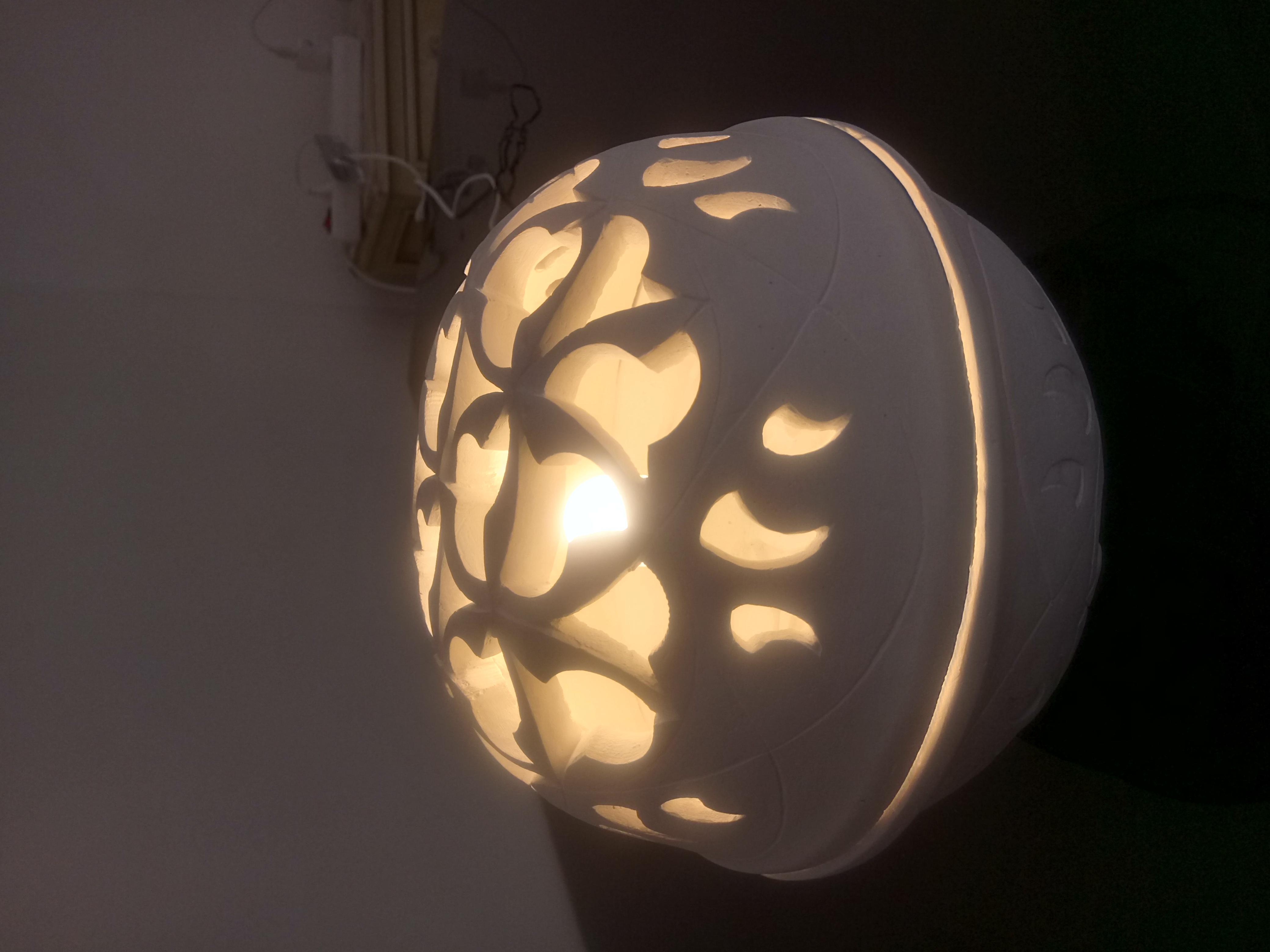 Lampe sphère à poser