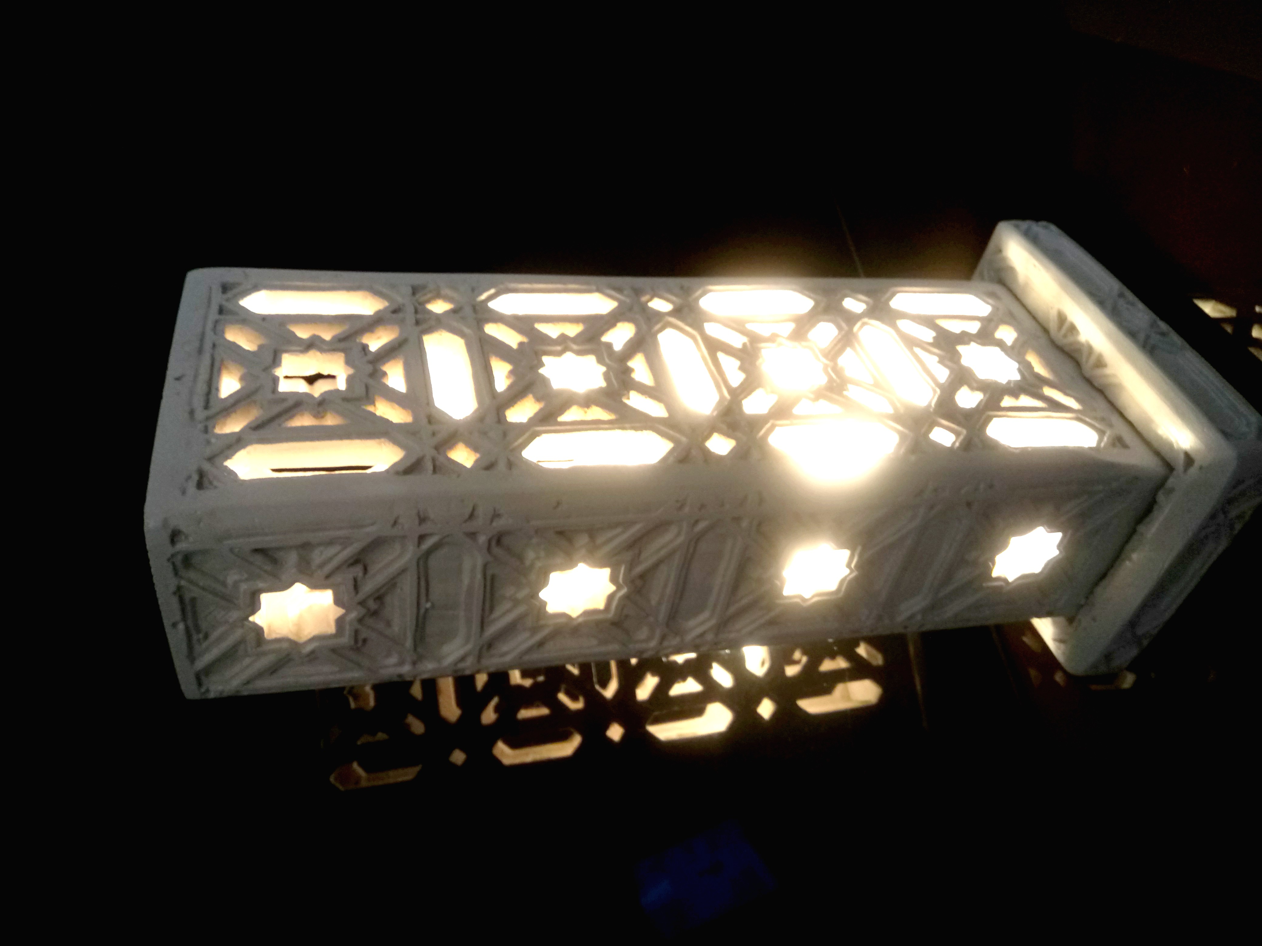 Lampe marocaine, décoration Sharanga