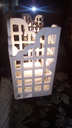 Lampe lanterne indienne c