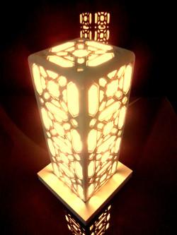 Lampe de salon chambre ciselée