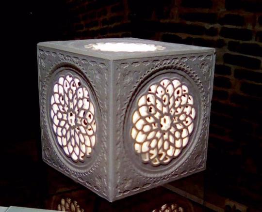 Lampe artisanale byzantine