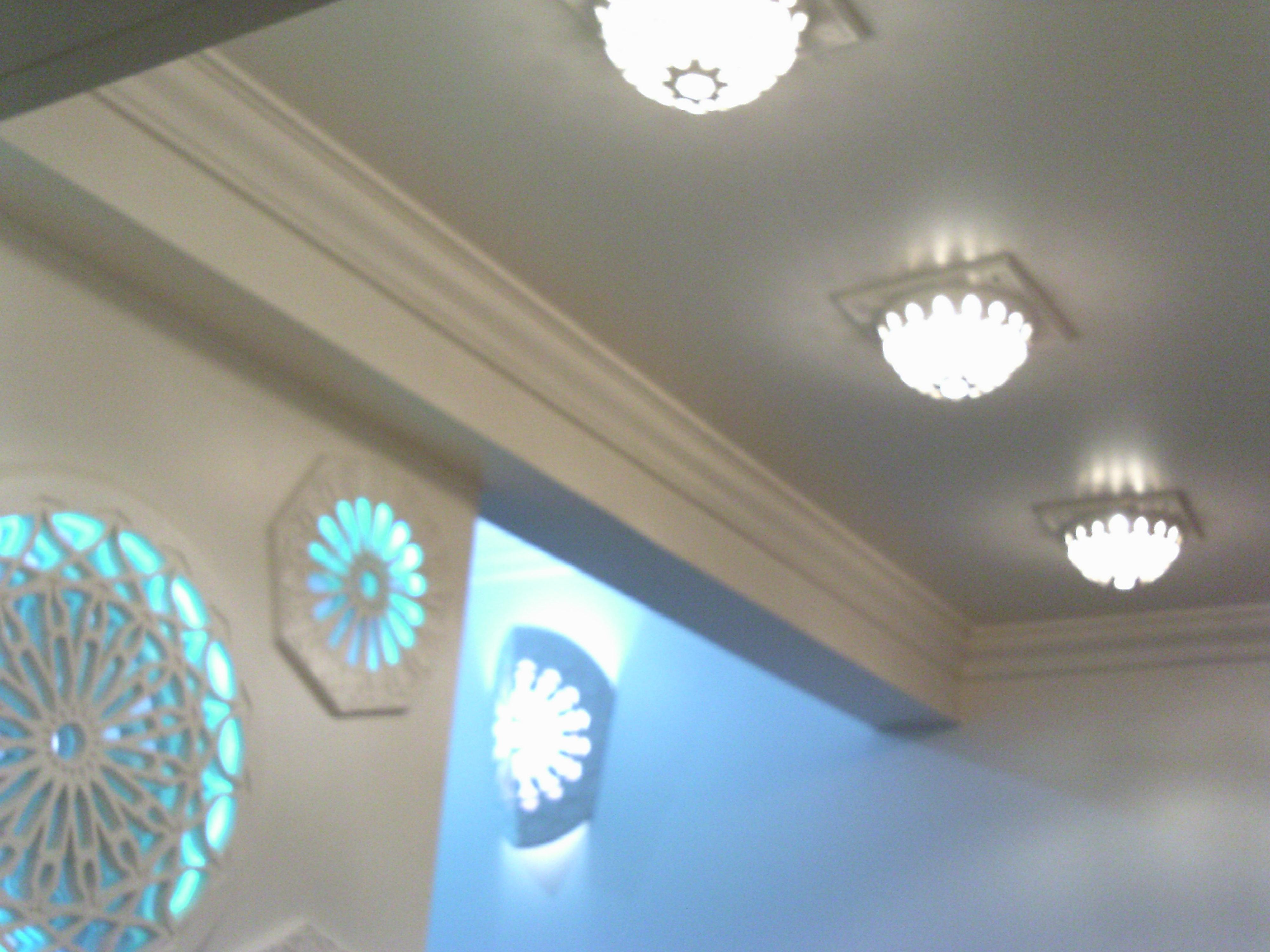 Sphère luminaire plafond
