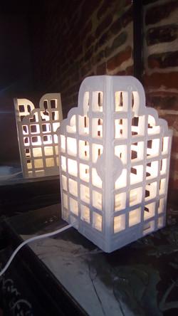Lampe de style Rajasthan, Sharanga