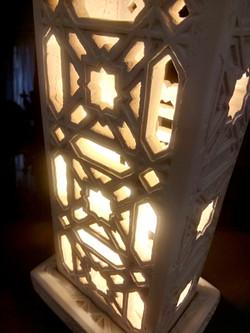 Lampe marocaine, à poser