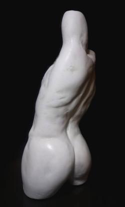Sculpture buste marbre Sharanga