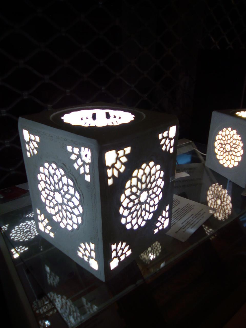 Lampe marocaine, artisanat Sharanga