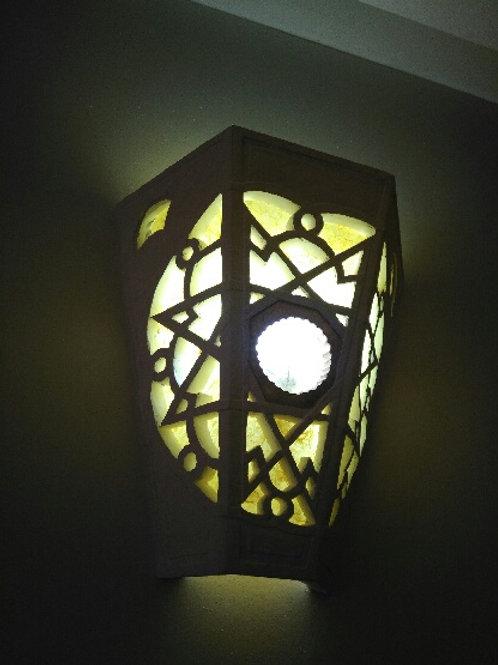 Grande applique de style marocain, Sharanga Design