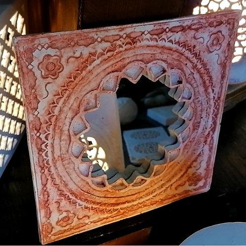Miroir sculpté - Sharanga Design