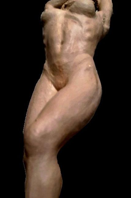 Grand buste féminin EN COURS- N°3 - Sharanga-Design