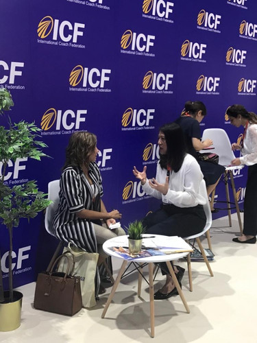 Coaching at ICF Event