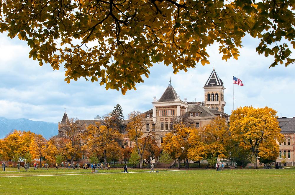 View of Utah State University
