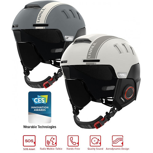 Livall RS1 Smart Ski Snow Snowboard Helmet