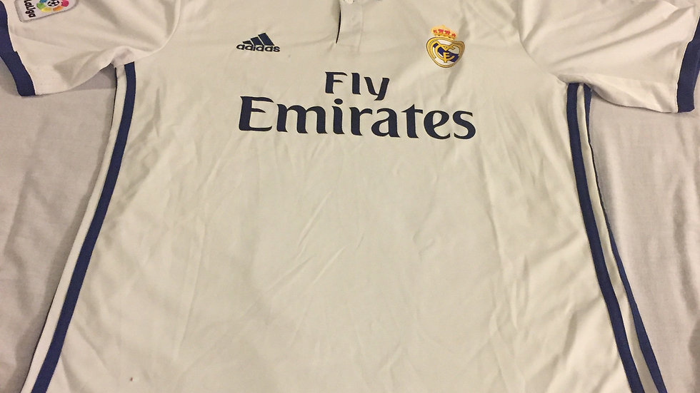 Real Madrid adidas  2016/17 Home  Jersey