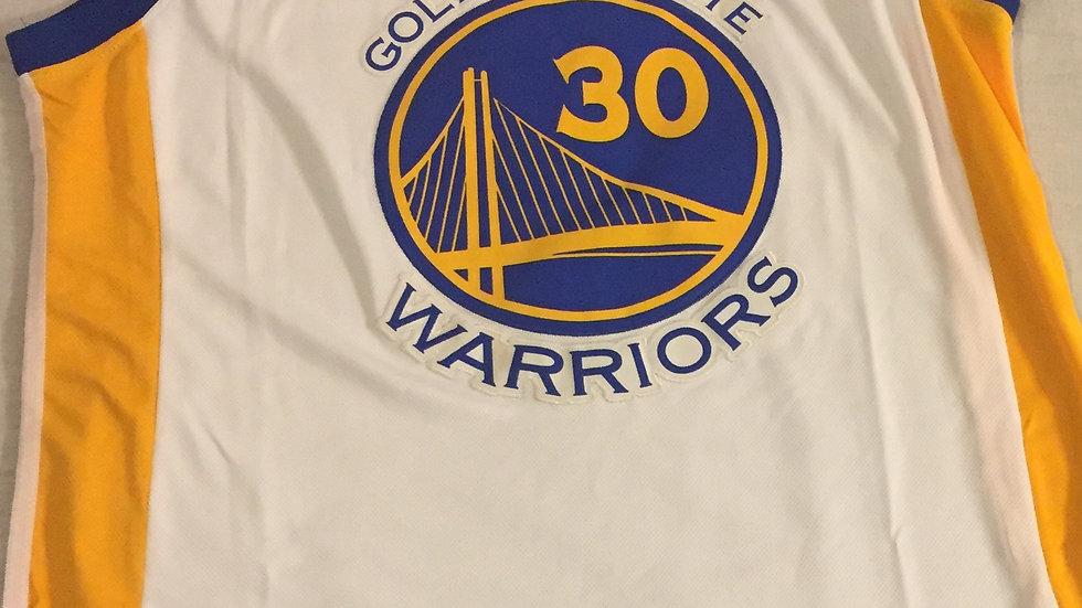 Stephen Curry Golden State Warriors Adidas  16/17Swingman Jersey White -