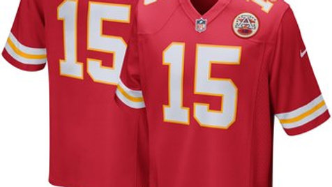 Men's Kansas City Chiefs Patrick Mahomes Nike Red Game Jersey