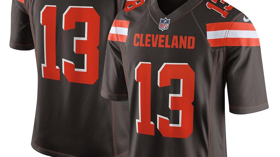 Men's Cleveland Browns Odell Beckham Jr Nike Brown Game Jersey
