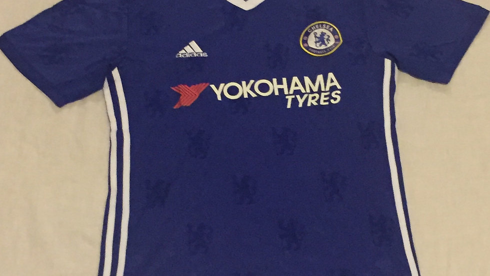2016-2017 Chelsea Adidas Home Football Jersey