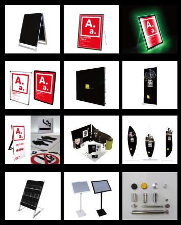 看板 LEDパネル ロールスクリーンバナー