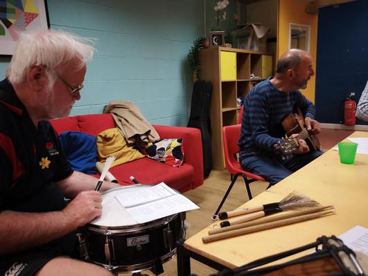 John & Derek at music group