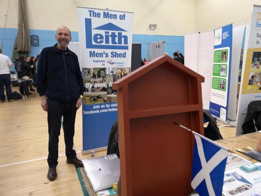 Derek at Leith Chooses event