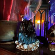 Grim Reaper Incense cone Burner £20