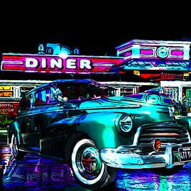 Fleetmaster at the Diner