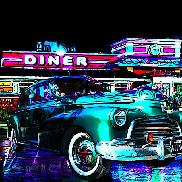 Fleetmaster at the Diner