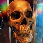 golden skull £18