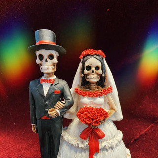 Bride and groom £20