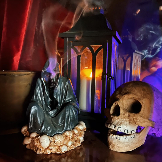 Grim Reaper Incense Burner £20