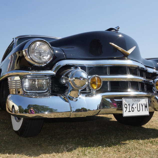 Cadillac Photographed by us at a car show