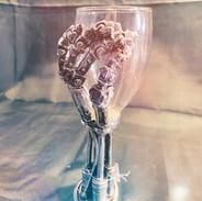 Terminator wine glass £30