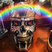 Terminator Skull/storage jar £40